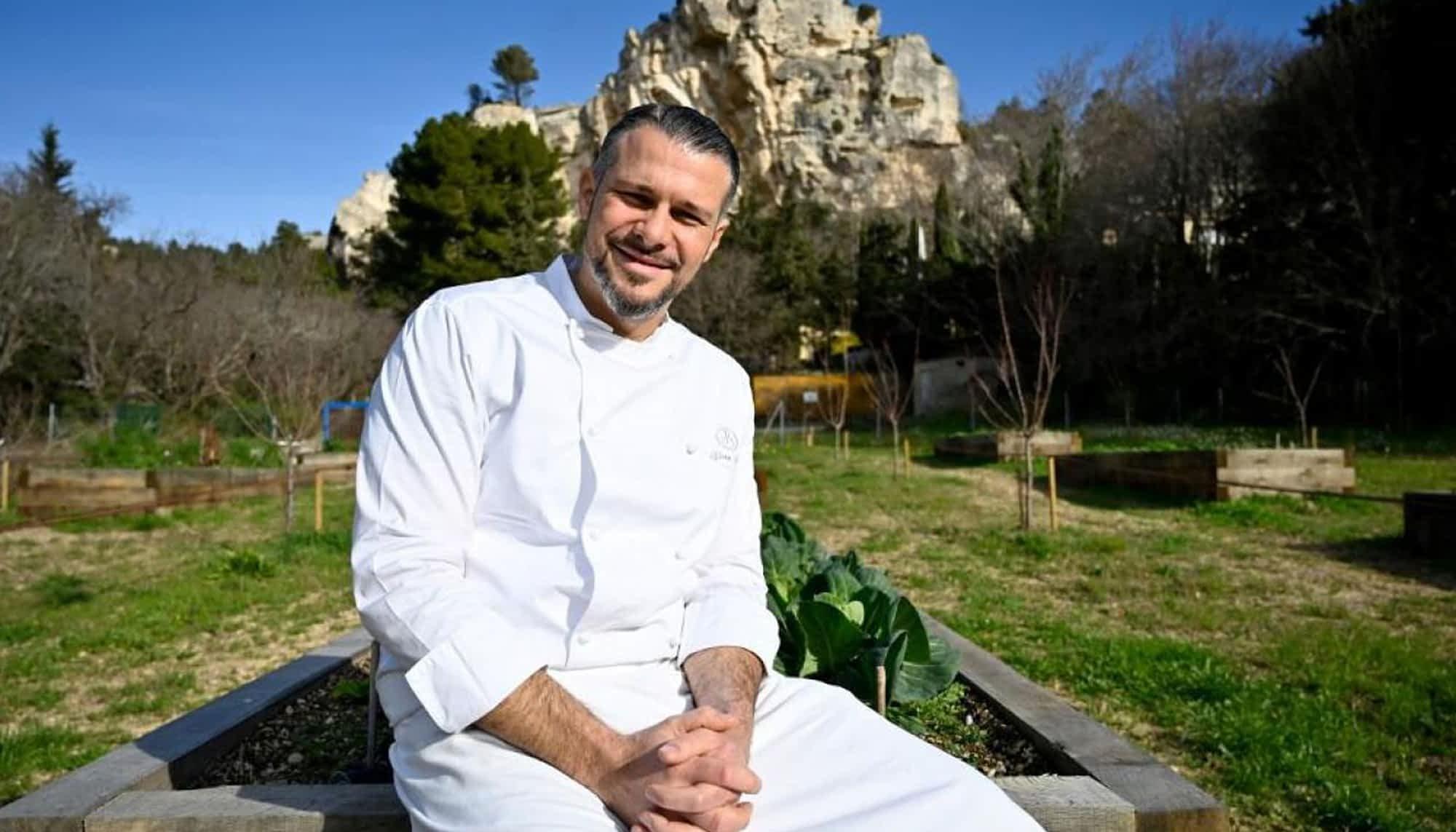 Chef de l'année 2020 aux Baux-de-Provence l ma villa en provence