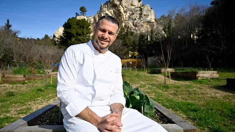 Le chef de l'année 2020 est aux Baux-de-Provence !